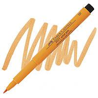 Ручка-кисточка PittPenBrush 113 оранжевая глазурь, Faber Castell