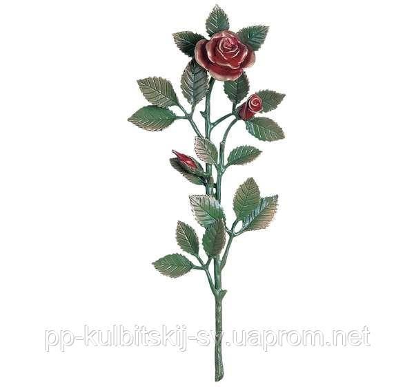 Бронзові Квіти на пам'ятник в кольорі  J1551