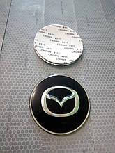 3Dнаклейки на диски и колпаки MAZDA металл  56 мм  и  65 мм