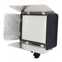 Накамерный биколорный свет со шторками Alitek LED-396AS (396 LED)