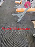 Резиновая плитка для тяжелой атлетики, фото 1