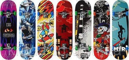 Скейт (скейтборд) детский деревянный MS 0322-2 (7 разных дизайнов), фото 2