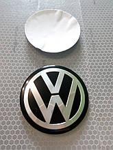 3D наклейки на диски и колпаки VOLKSWAGEN металл  56 мм  и  65 мм