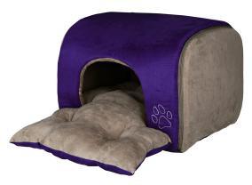 """Trixie Лежак - пещера """"Hollis"""", 43x32x36 см, фиолетовый"""