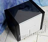 """Прикроватная тумба из клена """"Орео"""" в черно-белом цвете, фото 5"""