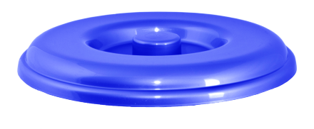122031/5  Крышка для ведра Алеана 5л. (голуб)