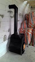 буржуйка печь сварог м 01 с отопительно варочной поверхностью длительного горения на дровах . Красиво