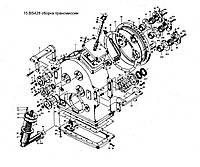 Узел трансмиссии КПП BS428 ZL30 на погрузчик FL936F LW300F ZL30G ML333R ZL20 XZ636 CDM833 CDM843