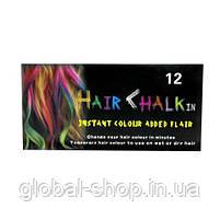 """Мелки для временной окраски волос """"Hair Chalk""""  12 штук, фото 3"""