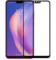 Защитное цветное стекло Mocolo (full glue) на весь экран для Xiaomi Mi 8 Lite / Mi 8 Youth (Mi 8X)
