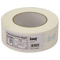 Кнауф Курт (Knauf Kurt) Оригинал бумажная лента для швов гипсокартона (рулон 25 м)