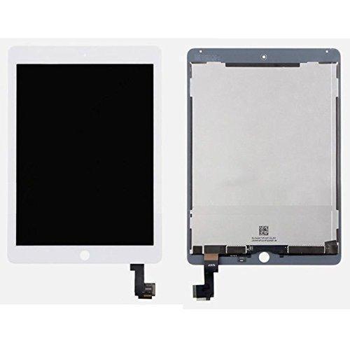 Дисплейний модуль для планшету Apple iPad Air 2 в зборі з тачскріном білий, High Copy