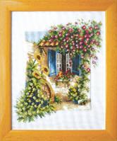 Набор для вышивания «Окно в цветах»