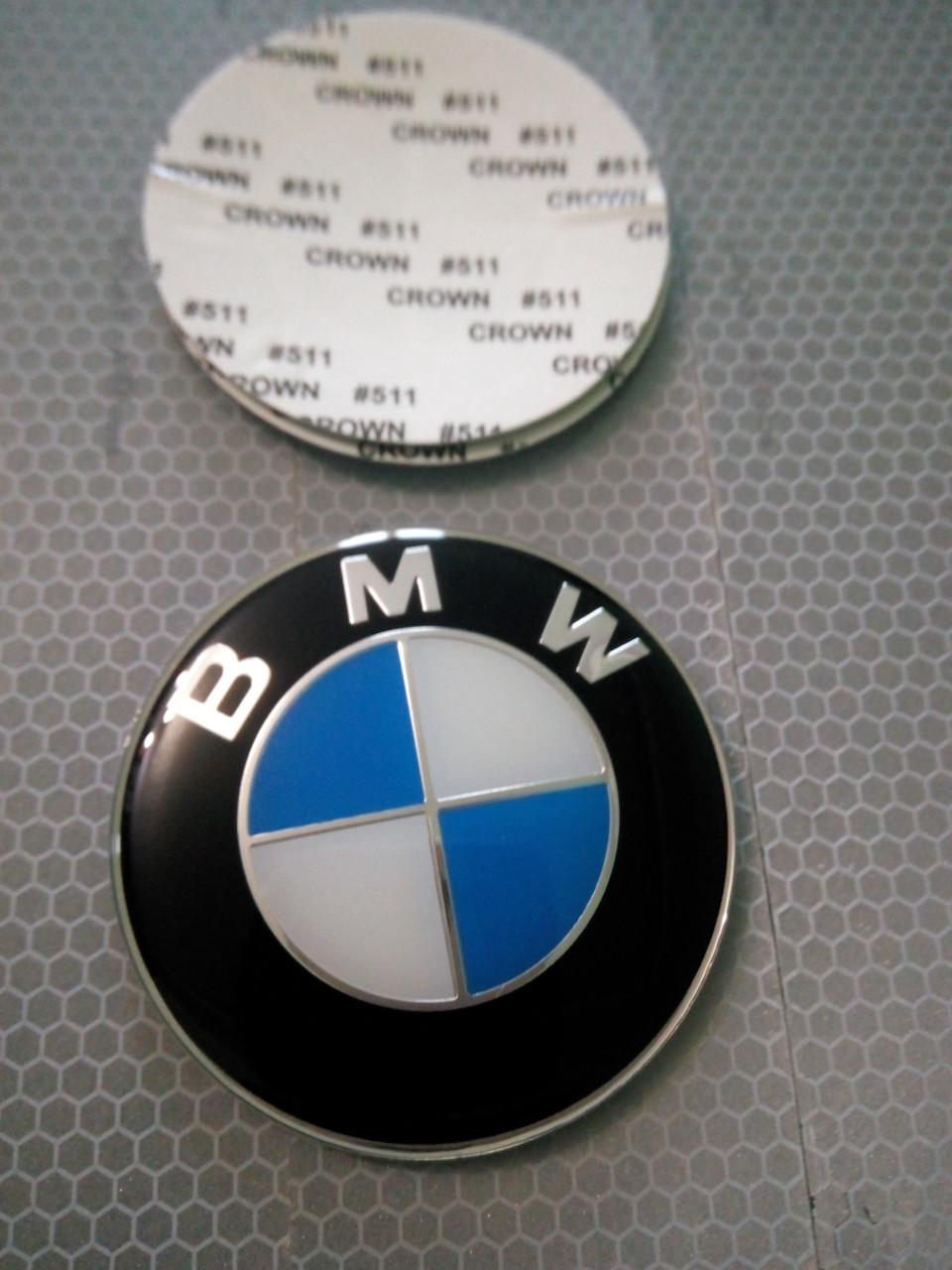 3D наклейки на колпаки и диски BMW металл  56 мм  и  65 мм