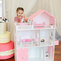 Игровой домик для кукол домик для Барби