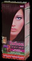 Крем-краска для волос без аммиака Рябина Soft Silk с флюидом 037 Баклажан