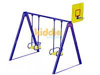 Качели с баскетбольным кольцом KIDDIE 3