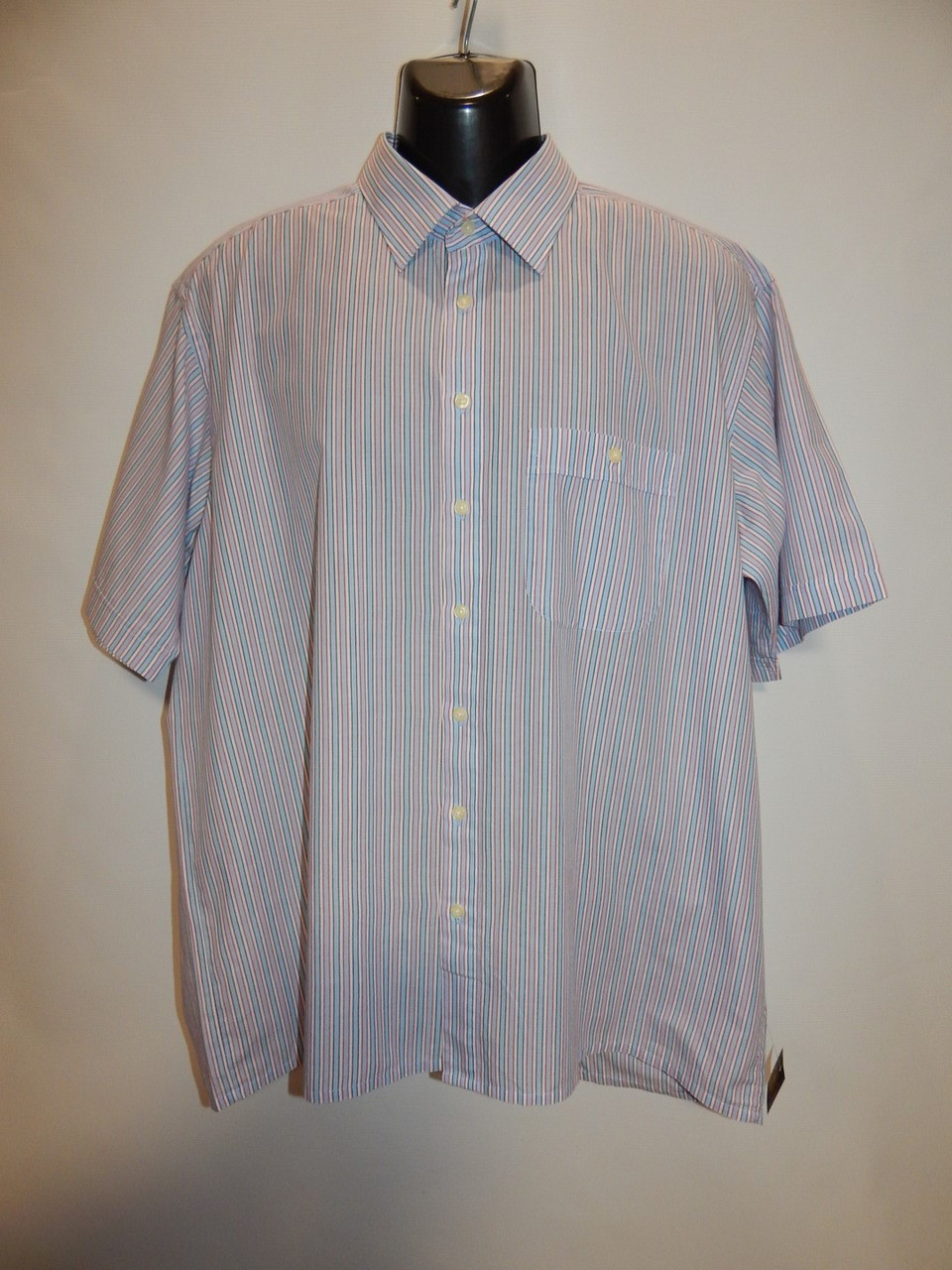 "Мужская рубашка с коротким рукавом Patrick o""Connor оригинал (009КР) р.54"