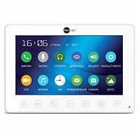 """Цветной видеодомофон NeoLight Omega+ , 7"""" TFT LCD экран, подсветка кнопок,тонкий корпус в черном и белом цвете"""
