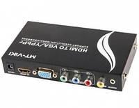 MT-VIKI Конвертер 2xHDMI в Component/VGA+Audio+Optical (MT-HVS02)