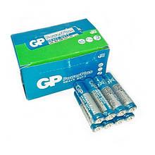 Батарейки солевые GP Power Pluss AAA мизинчиковые, R 03, упаковка — 40 шт