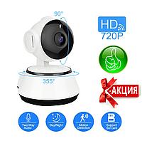 Цифровая Камера Wi-Fi Поворотная Wi Fi IP-камера 360 видеонаблюдения Видеоняня Ночное виденье