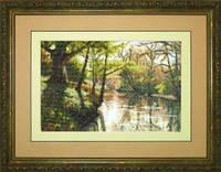 Набор для вышивания «Река в лесу»
