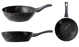 Сковорода GUSTO GT-2105-28 покрытие Marble 280х73 мм