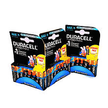 Батарейки Duraсell Turbo AAА мизинчиковые, R 03 , отрывной лист  — 8 шт