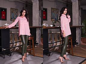 0c78dc388520b2c Асимметричная женская рубашка-туника