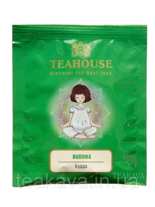 Чай Teahouse Будда 2г*50 (зеленый чай в пакетиках), 100 г