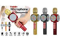 Портативный караоке Bluetooth микрофон 2 в 1 WS-1816