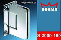 Петля маятниковая самодоводящаяся для душевой кабины из стекла, хром Dorma S2000 (Германия)