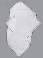 Комплект крестильный для девочки белый, фото 1