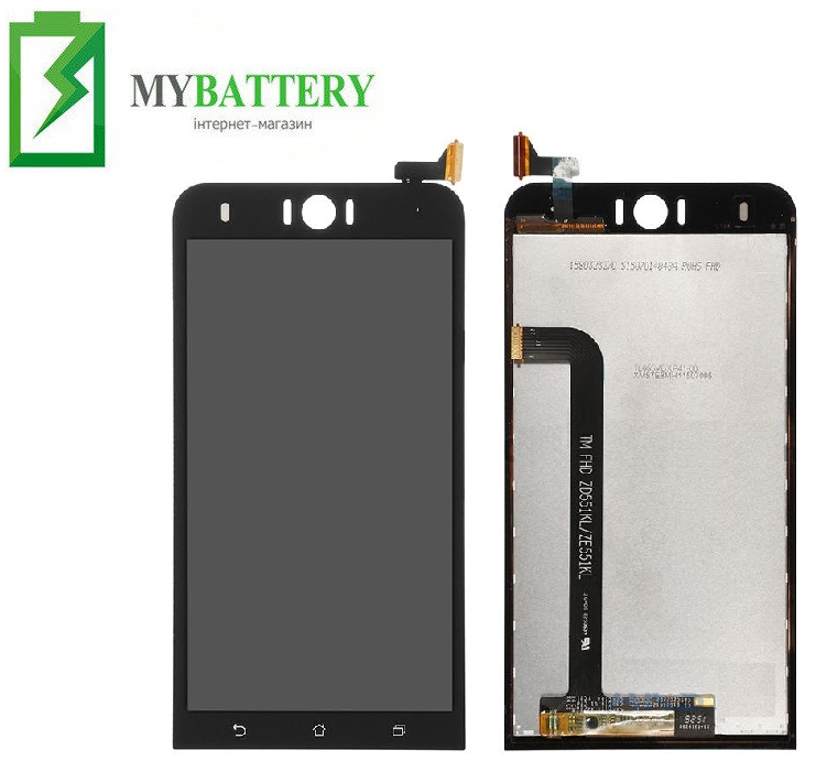 Дисплей (LCD) Asus ZenFone Selfie (ZD551KL) с сенсором чёрный
