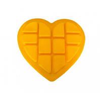 Силиконовая форма для выпечки Сердце 32х30х2,5 см