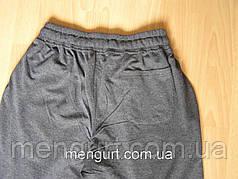 Штаны спортивные мужские на манжете Узбекистан 100%хлопок, фото 3
