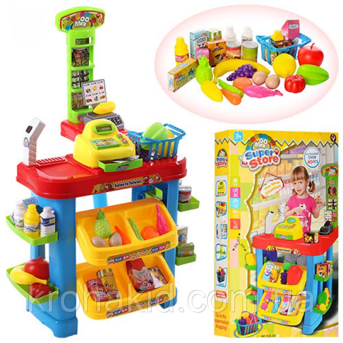 Дитячий ігровий набір Супермаркет (магазин) 922-02 каса, продукти