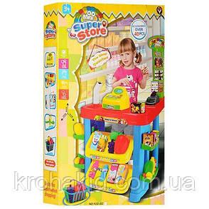 Дитячий ігровий набір Супермаркет (магазин) 922-02 каса, продукти, фото 2