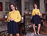 """Женская шифоновая блуза """"Becks"""" с длинным рукавом (11 цветов), фото 4"""