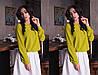 """Женская шифоновая блуза """"Becks"""" с длинным рукавом (11 цветов), фото 5"""