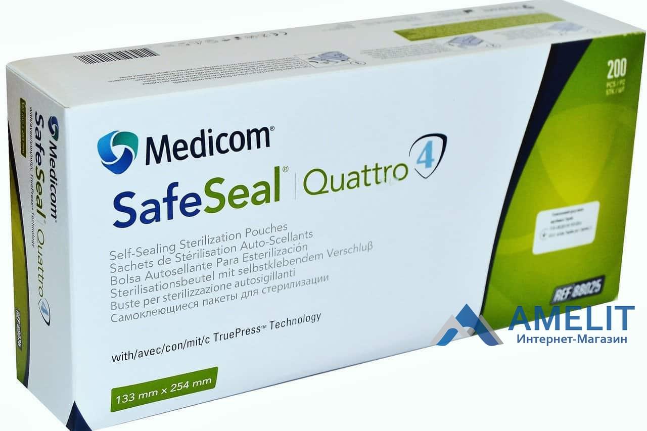 Пакети для стерилізації (Medicom), 133*254мм, 1шт.
