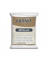 Новинка! Полимерная глина Цернит Cernit серия Металлик Metallic, Античная Бронза Antique Bronze, 56г