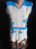 Летние халаты из хлопковой ткани., фото 1
