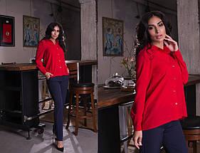 """Стильные женские брюки на резинке """"Casual"""" с карманами (7 цветов), фото 3"""