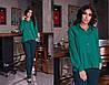 """Стильные женские брюки на резинке """"Casual"""" с карманами (7 цветов), фото 2"""