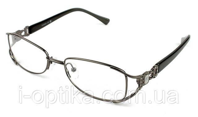 Женские очки по рецепту в металлической оправе