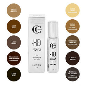 Хна для бровей Premium henna HD CC Brow