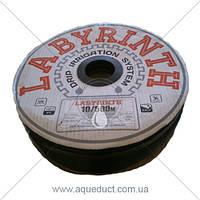 Лента капельного полива 0,2мм 8mils/10см LABYRINTH
