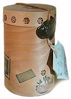 Чорний гранульований Іван-чай з м'яким п'ятою високий тубус 80 грам